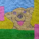 Obraz olejny: Lucyna Pawlak (Lu) - Bajkowy portret Lukuni