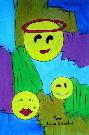 Obraz olejny: Lucyna Pawlak (Lu) - Humorek 3