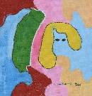 Obraz olejny: Lucyna Pawlak (Lu) - Kobieta i lustro