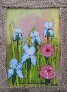 Obraz olejny: Lucyna Pawlak (Lu) - Letnie kwiaty 2