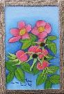 Obraz olejny: Lucyna Pawlak (Lu) - Letnie kwiaty 3