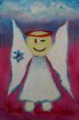 Obraz olejny: Lucyna Pawlak (Lu) - Morski anioł