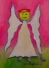 Obraz olejny: Lucyna Pawlak (Lu) - Morski anioł 10