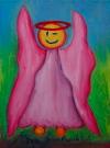 Obraz olejny: Lucyna Pawlak (Lu) - Morski anioł 12