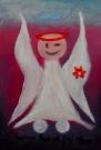 Obraz olejny: Lucyna Pawlak (Lu) - Morski anioł 2