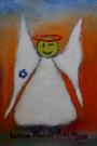 Obraz olejny: Lucyna Pawlak (Lu) - Morski anioł 4