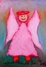 Obraz olejny: Lucyna Pawlak (Lu) - Morski anioł 5