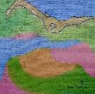 Obraz olejny: Lucyna Pawlak (Lu) - Nadlatujący ptak