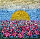 Obraz olejny: Lucyna Pawlak (Lu) - Pole kwiatowe 10