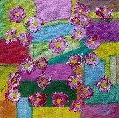 Obraz olejny: Lucyna Pawlak (Lu) - Pole kwiatowe 11