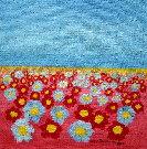 Obraz olejny: Lucyna Pawlak (Lu) - Pole kwiatowe 5