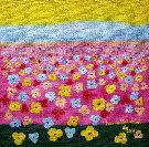 Obraz olejny: Lucyna Pawlak (Lu) - Pole kwiatowe 7