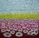 Obraz olejny: Lucyna Pawlak (Lu) - Pole kwiatowe 9