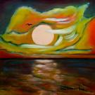 Obraz olejny: Lucyna Pawlak (Lu) - Przed klimatem 4
