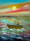 Obraz olejny: Lucyna Pawlak (Lu) - Przed klimatem 6