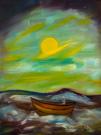 Obraz olejny: Lucyna Pawlak (Lu) - Przed klimatem 7