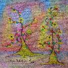 Obraz olejny: Lucyna Pawlak (Lu) - Słońce 20
