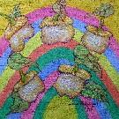 Obraz olejny: Lucyna Pawlak (Lu) - Słońce 21